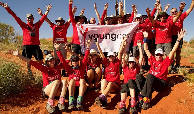 Simon Smith took on the Youngcare Simpson Desert Challenge and trekked 300km in 10 days through the Simpson Desert raising over $15,000.